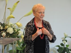 Rev Mari Gabrielson at Unity Center in Milwaukee