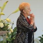 Rev Mari Gabrielson at Unity Center in Milwaukee