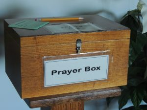 Unity Center Prayer Box