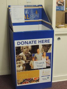 Hunger Task Force Food Collection at Unity Center in Milwaukee